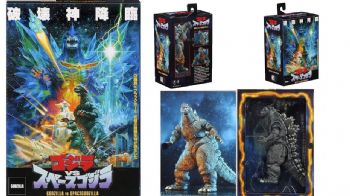 "NECA Godzilla Vs SpaceGodzilla 1994 12"" Action Figure"